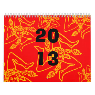 Calendario TRINACRIA 2013 Wall Calendars