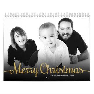 Calendars 2018 Family Photo Merry Christmas