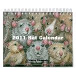 Calendrier 2011 de rat par Kathy Clemente