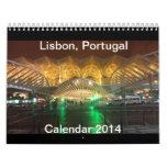 Calendrier 2014 de Lisbonne, Portugal (modifiez)