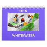 Calendrier 2016 Kayaking de Whitewater