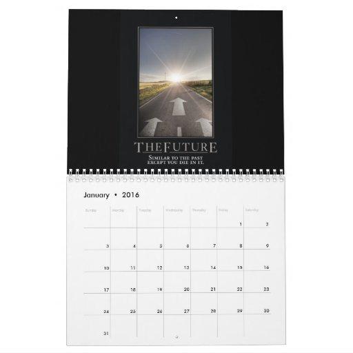 Calendrier de calendrier de Demotivational