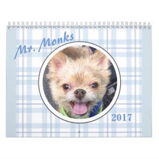 Calendrier de M. Monks 2017