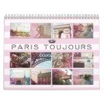 Calendrier de photographie de Paris Toujours