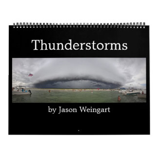 Calendrier de photographie d'orage