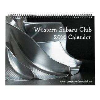 Calendrier de WSC 2016