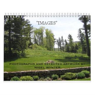 """Calendrier des """"images"""" 2013 par Nigel Wynter"""