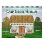 Calendrier irlandais de cottages