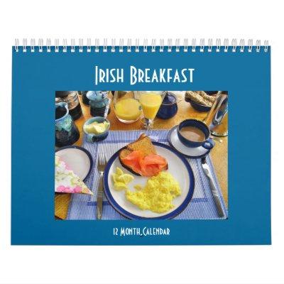 Calendrier irlandais de petit déjeuner
