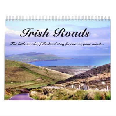 Calendrier irlandais de routes