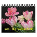 Calendrier irlandais du festival 2010 de tulipe