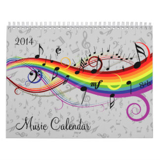 Calendrier variable de musique d'année
