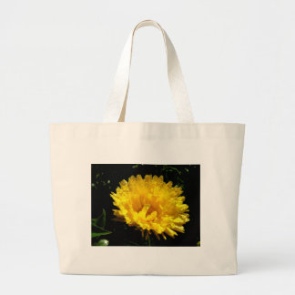 Calendula aka Pot Marigold Large Tote Bag