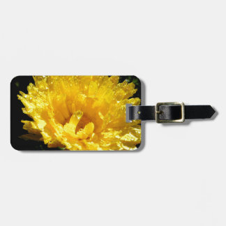 Calendula aka Pot Marigold Luggage Tag