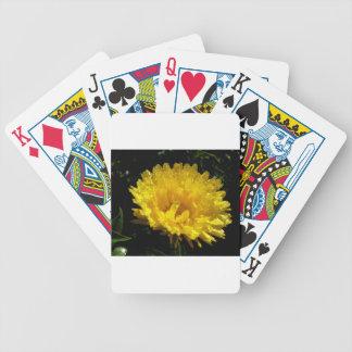 Calendula Gold Bicycle Playing Cards