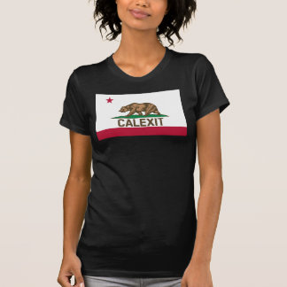 CALEXIT California Bear Flag For Her T-Shirt