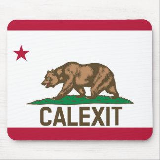 CALEXIT California Bear Flag Mouse Pad
