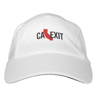 Calexit - California Exit - red - -  Headsweats Hat