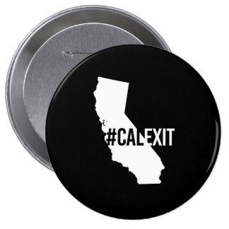 Calexit - California Secession -- -  4 Inch Round Button
