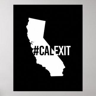 Calexit - California Secession -- -  Poster