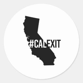 Calexit - California Secession - -  Round Sticker
