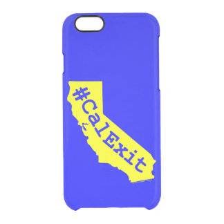 CalExit Clear iPhone 6/6S Case