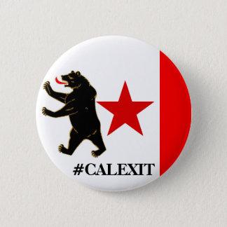 Calexit Historical Storm Flag Political Button