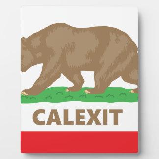 Calexit Plaque