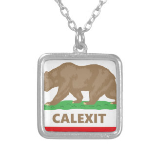 Calexit Silver Plated Necklace