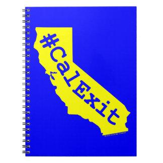 CalExit Spiral Notebook