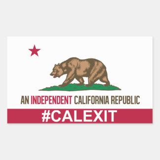 CalExit Sticker