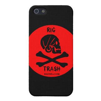 Calez les déchets, le crâne et les os croisés, coq coques iPhone 5