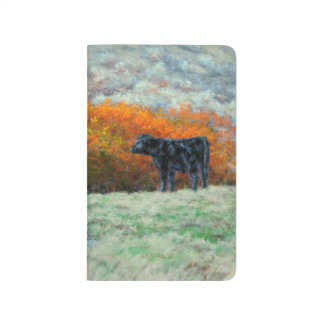 Calf by Creek in the Fall Pocket Journal