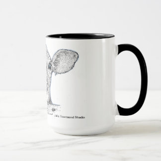 Calf Licking Nose If you Love Cows Mug