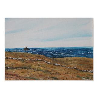 Calf Rock , Oil : Photo Print
