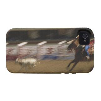 Calf Roping, Calgary Stampede iPhone 4 Case