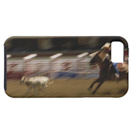 Calf Roping, Calgary Stampede iPhone 5 Covers