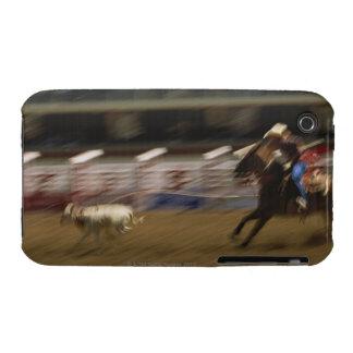 Calf Roping, Calgary Stampede Case-Mate iPhone 3 Case