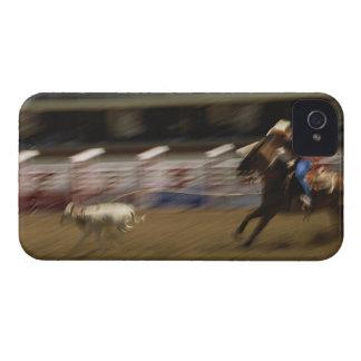Calf Roping, Calgary Stampede iPhone 4 Covers