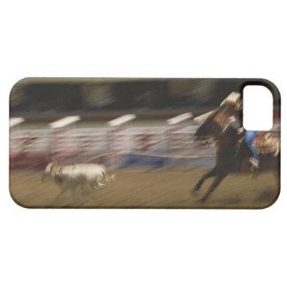Calf Roping, Calgary Stampede iPhone 5 Cases