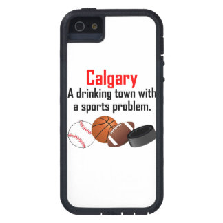 Calgary A Drinking Town With A Sports Problem iPhone 5 Covers