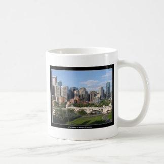 Calgary Alberta Canada Downtown Skyline View Coffee Mug