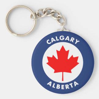 Calgary, Alberta Keychain
