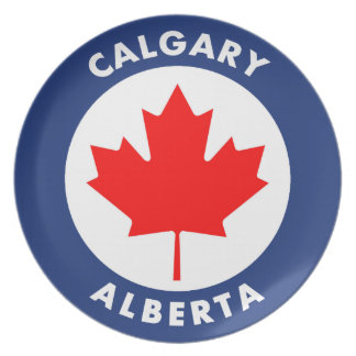 Calgary, Alberta Plate