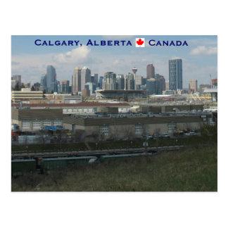 Calgary Alberta Postcard