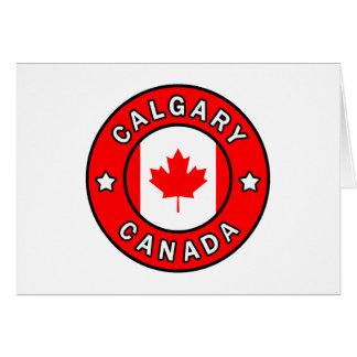 Calgary Canada Card