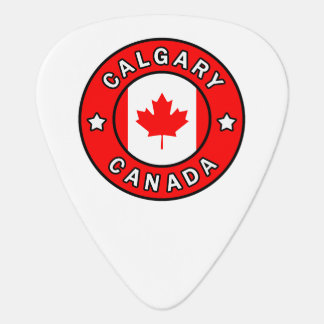 Calgary Canada Guitar Pick