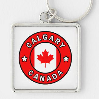 Calgary Canada Keychain