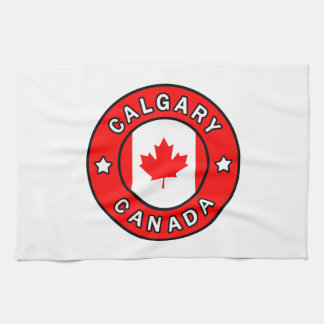 Calgary Canada Kitchen Towel