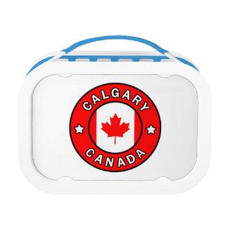 Calgary Canada Lunch Box
